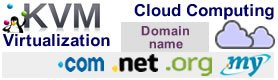 Cloud Computing Virtualization Domain name
