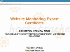Website Monitoring Expert