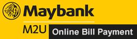 Maybank2u Online Bill Payment