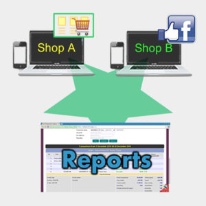 Custom online selling channel and reports